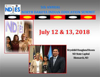 ND Indian Education Summit flyer