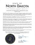 Proclamation document