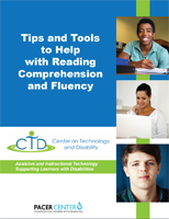 Tips and Tools to Help with Reading Comprehension and Fluency cover