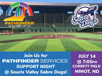 Join us for Pathfinder Services Support Night _ Souris Valley Sabre Dogs ad