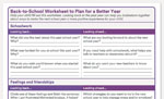 Back to School Worksheet image
