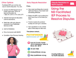 Dispute Resolution in North Dakota_ Using the ND Facilitated IEP Process to Resolve Disputes