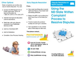 Dispute Resolution in North Dakota_ Using the ND State Written Complaint Process to Resolve Disputes
