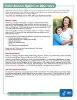 Fetal Alcohol Spectrum Disorders _FASDs_