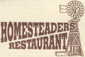 Homesteaders Restaurant logo
