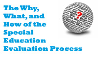 The Why, What, and How of the Special Education Evaluation Process