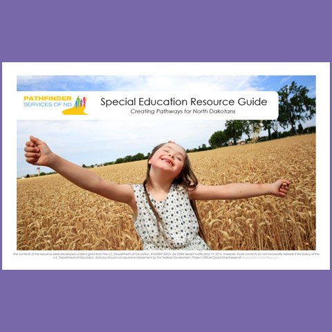 Special Education Resource Guide cover