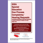 IDEA Special Education Due Process Complaints/Hearing Requests