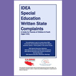 IDEA Special Education Written State Complaints