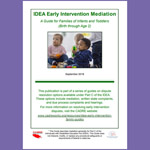 IDEA Early Intervention Mediation