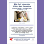 IDEA Early Intervention Written State Complaints