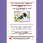 IDEA Early Intervention Due Process Complaints and Hearing Requests - Part C Procedures