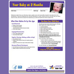 Your Baby at 2 Months (Checklist)