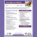Your Baby at 4 Months (Checklist)