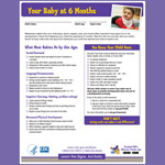 Your Baby at 6 Months (Checklist)