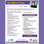 Your Child at 4 Years (Checklist)