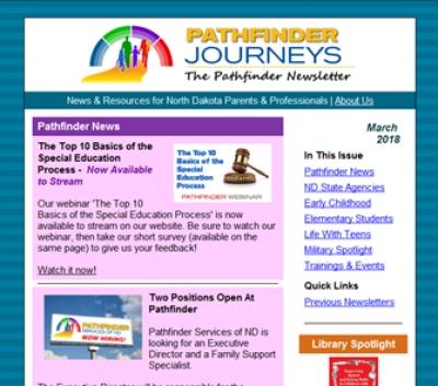 Pathfinder Journeys - March 2018