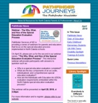 Pathfinder Journeys - April 2018 cover