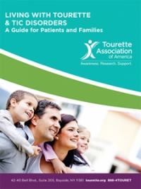 Living with Tourette & Tic Disorders: A Guide for Patients and Families cover